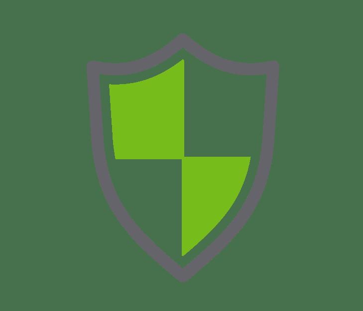 antivirus logo depicting a shield