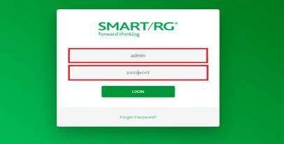 Smart/RG Login page